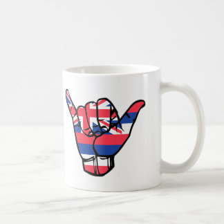 Shaka Hawaii Flag Coffee Mug