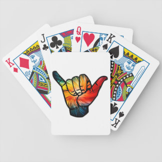 Shaka Rainbow Poker Deck