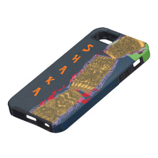 Shaka Tipsy Tiki Totem Low Brow Luau - iPhone 5 Cover