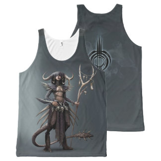 Shakal The Half-Formed Tank Top