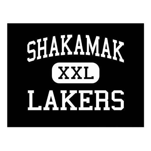 Shakamak - Lakers - High - Jasonville Indiana Post Card