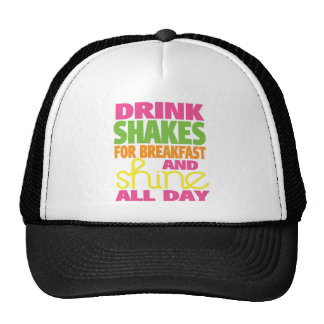 Shake and Shine Trucker Hats