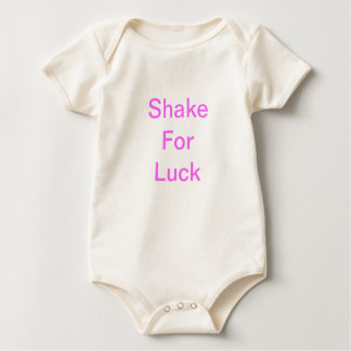 Shake for luck baby bodysuit