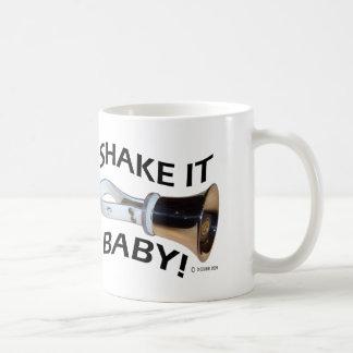 Shake It Baby! Basic White Mug