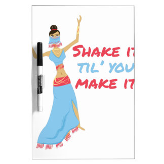 Shake It Dry Erase Board