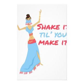 Shake It Personalized Stationery