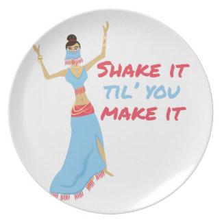 Shake It Plate