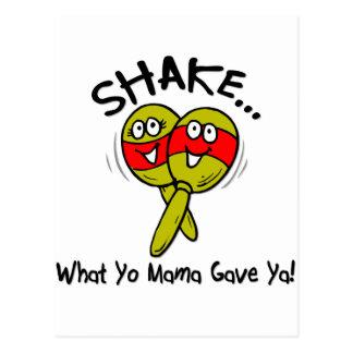 Shake It Postcard