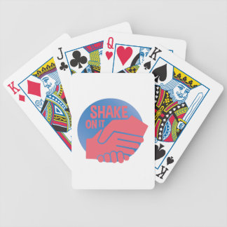 Shake On It Bicycle Playing Cards