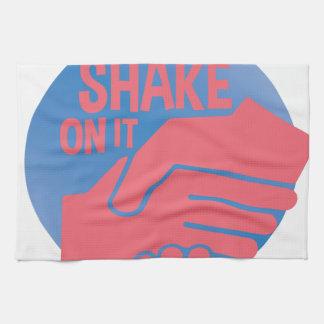 Shake On It Tea Towel