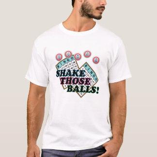 Shake Those Balls Colourful Text T-Shirt