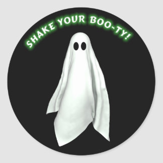 Shake Your Boo-ty  Halloween Sticker