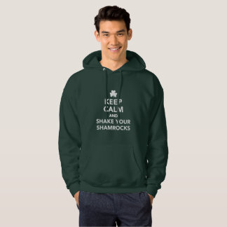 Shake Your Shamrocks Funny Green St. Pattys Day Hoodie