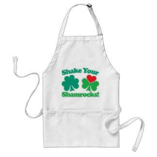 Shake Your Shamrocks Standard Apron