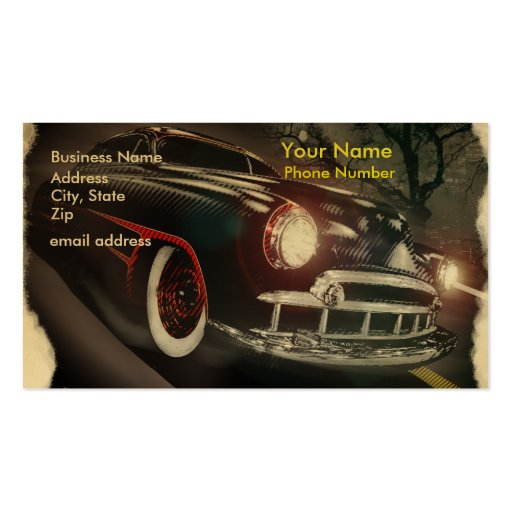 Shakedown Pack Of Standard Business Cards