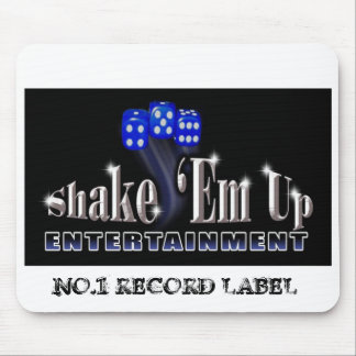 Shakelogo 2 RESIZE, NO.1 RECORD LABEL Mouse Pad