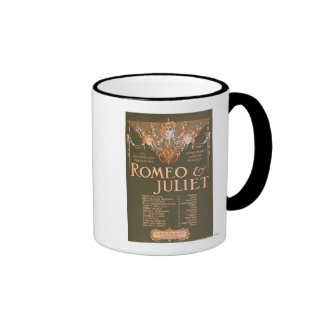"Shakepeare's Sublime Tragedy ""Romeo & Juliet"" Coffee Mug"