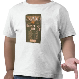 """Shakepeare's Sublime Tragedy """"Romeo & Juliet"""" T Shirt"""