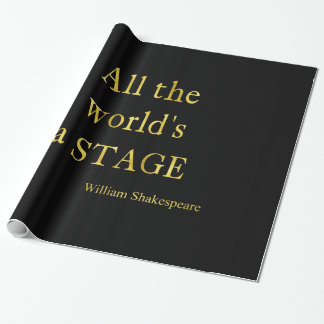 Shakespeare All The World's A Stage Quote