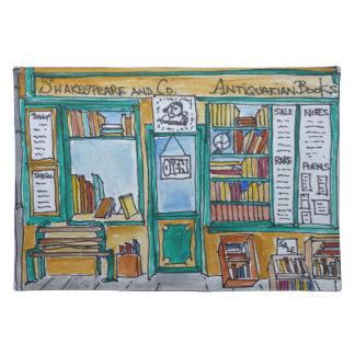Shakespeare & Co. Bookstore | Seine, Paris Placemat