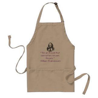 "Shakespeare "" Ill Cook "" apron"