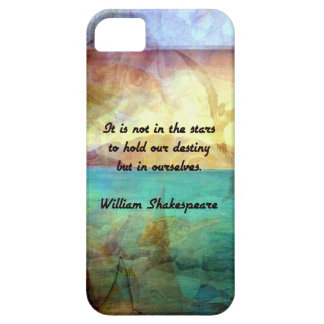 Shakespeare Inspirational Quote About Destiny Case For The iPhone 5