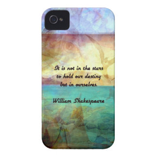Shakespeare Inspirational Quote About Destiny Case-Mate iPhone 4 Case