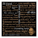 Shakespeare Insults Collection