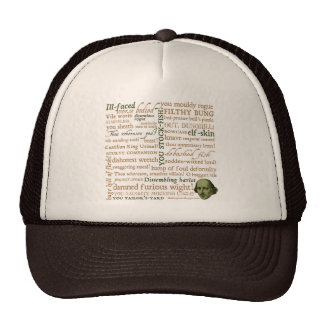 Shakespeare Insults Collection Hats