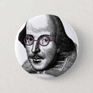 Shakespeare Lennon 6 Cm Round Badge