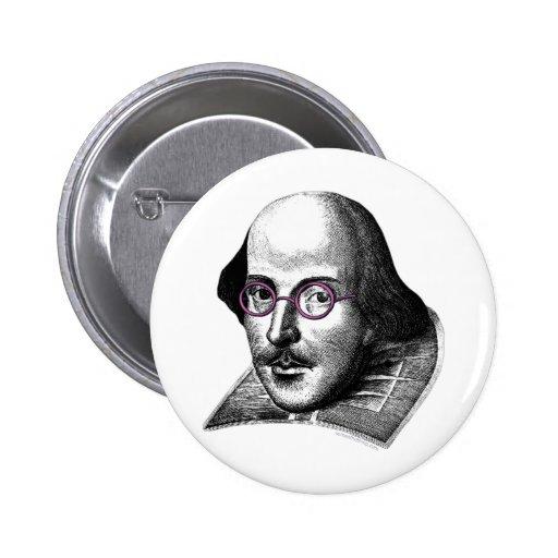 Shakespeare Lennon Pins