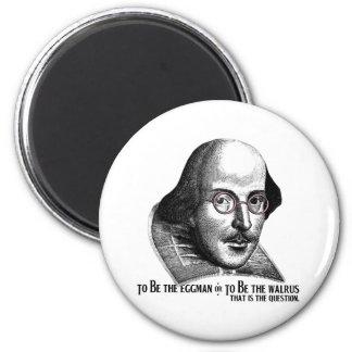 Shakespeare Lennon II 6 Cm Round Magnet