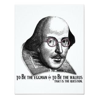 Shakespeare Lennon II Card