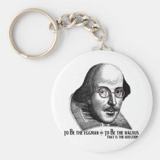Shakespeare Lennon II Key Chains