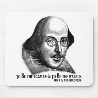 Shakespeare Lennon II Mouse Pad