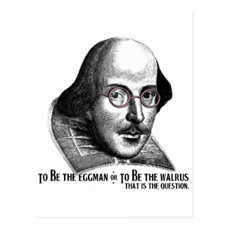 Shakespeare Lennon II Postcard