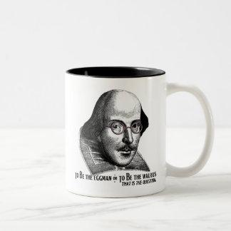 Shakespeare Lennon II Two-Tone Mug