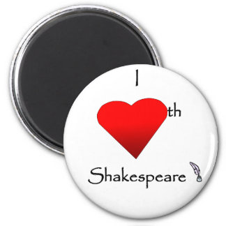 Shakespeare Love Magnet