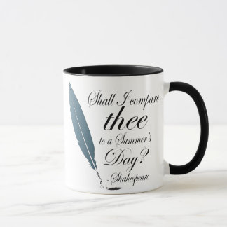 Shakespeare Love Quotes Lover Gift Mug