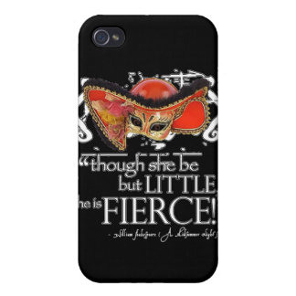 Shakespeare Midsummer Night's Dream Fierce Quote iPhone 4/4S Cases