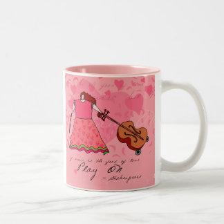 Shakespeare Music Quote Mug