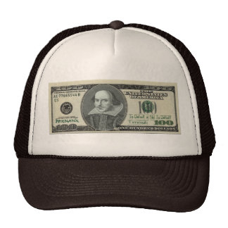 Shakespeare Note Hat