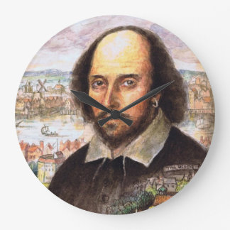 Shakespeare Portrait Clock