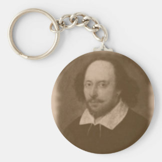 Shakespeare Portrait Keychain