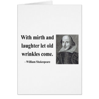 Shakespeare Quote 7b Card