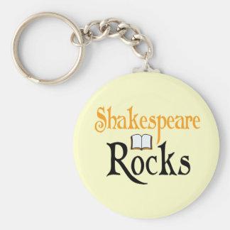 Shakespeare Rocks Keychain Gift
