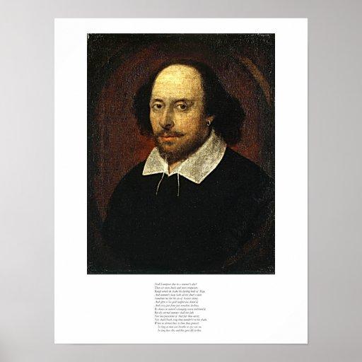 Shakespeare Sonnet # 18 Poster