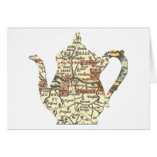 Shakespeare Teapot Card