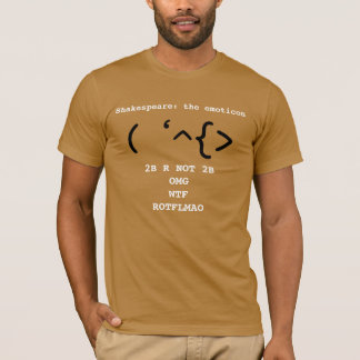 Shakespeare: The Emoticon T-Shirt