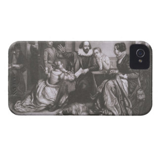 Shakespeare with his Family, at Stratford, Recitin iPhone 4 Case-Mate Case